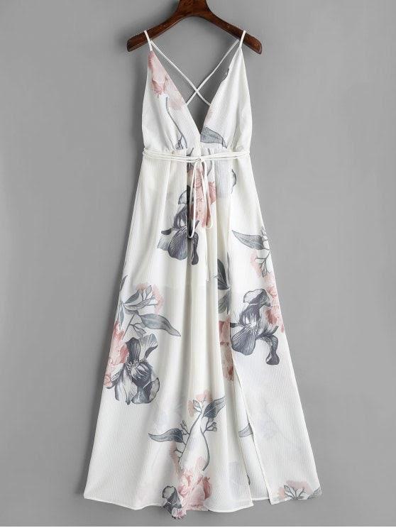 white-low-cut-dresses