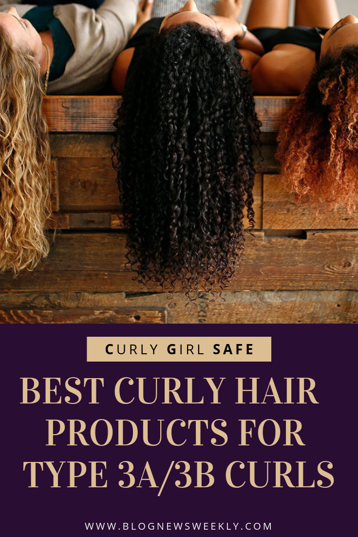 Best Curly Hair Products For Type 3a 3b Curls